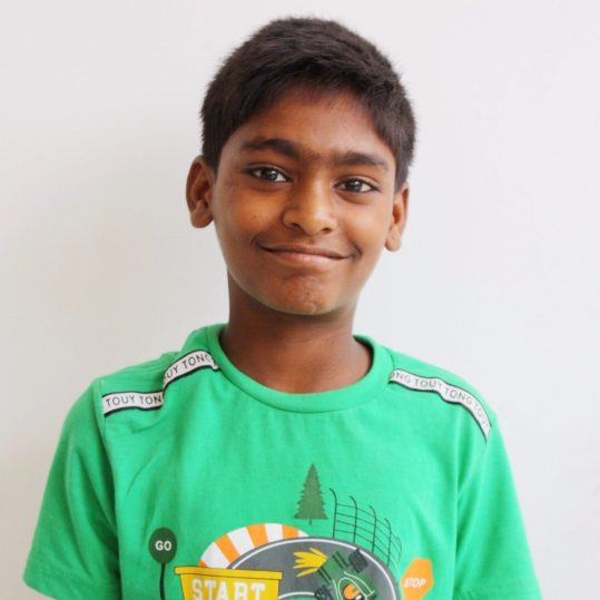 Click here to sponsor AjayHi, my name is Ajay! My family has lived on the streets my entire life. A team from Project I Am International started visiting us on the side of the road in 2015. I used to look out for the grey car because whenever they came, they would bring us food or clothes. My mom would never let us go with them though. She didn't trust them quite yet. In 2016, my dad was murdered so my mom finally agreed to let my four siblings and I come stay in a PIAI Rescue Home, but she wasn't willing to come with us. I am now studying hard at school and even worked with a tutor to catch up to my grade level. I am hoping to be a police officer when I grow up so I can protect other kids living on the streets because most police are very mean to us.
