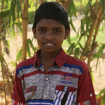 Click here to sponsor Ganesh. Hi, my name is Ganesh! My mom died when I was very young and my dad was murdered in 2017. Both my brother and I were living on the streets, begging for strangers to help us survive. Now, my older brother and I are living in Project I Am Rescue homes. I have been successful in most of the subjects at school, except I am a little difficult time with math. I am not quite sure what I want to be when I grow up, but I really enjoy drawing and reading.
