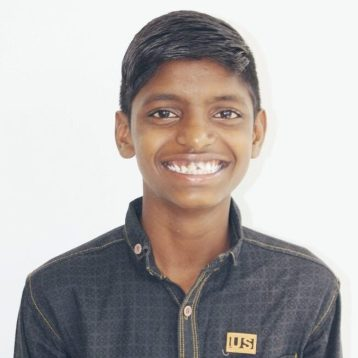 Click here to sponsor Naresh. Hi, my name is Naresh! When I was young, my mom died and in 2017, my dad was murdered. Both my younger brother and I were living on the streets and begging for money and food to survive. Now, we are living in Project I Am Rescue homes. I really like helping to take care of my younger brother and I also watch out for all the other little boys in the home. I help them with washing their clothes and doing their homework. I really am excited to be a dad one day, so right now I am studying hard so I can get a good job to provide for my future family.
