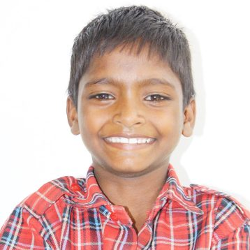 Click here to sponsor Ramesh.Hi, my name is Ramesh! At a young age, I witnessed my father's murder at the hand of my mother's boyfriend. An alcoholic, my mom forced me to beg on the streets and used the money I was able to get to buy more alcohol. Now, my other brothers and sisters and I are in Project I Am Rescue Homes. I am a year behind in school, but with the help of tutors in the evenings, I am hoping to catch up soon. I enjoy playing with blocks and watching tv in my free time. I feel safe now that I know I do not have to struggle to survive.